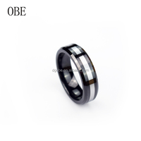 2017 OBE jewelry new arrival tungsten ring latest gold finger ring designs gold dubai wedding ring