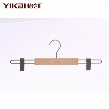 high quality luxury beech wooden pants hanger