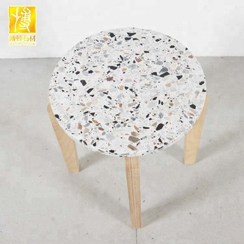 Attractive Wholesale Terrazzo Artificial Stone Table Top Decoration Material