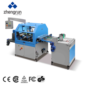 Zhengrun CR400 OEM Automatic Notebook Cover Making Automatic Corner Rounding Machine