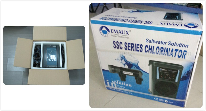 Emaux swimming pool salt chlorinator for disinfect system pool sterilizer salt chlorinator