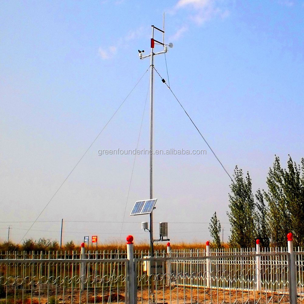 Agriculture Monitoring Automatic optional sensors Meteorological Station Weather Station