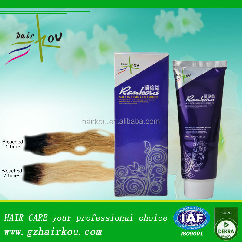 2017 Newest Hair Color Product Professional Bleaching Cream With Plant Extracted Factors For