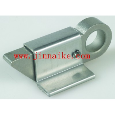Silver/Yellow Zinc Q Shape Gate Latch