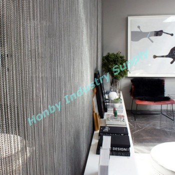 Double Jack Metal Chain Curtain Of Good Quality For Room Divider