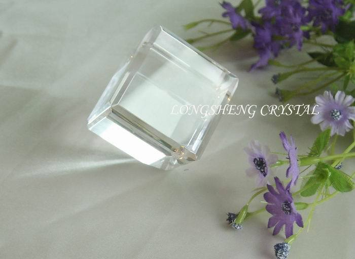3d laser engraving gifts crystal cube 3d laser engraved for Wholesale glass blocks for crafts