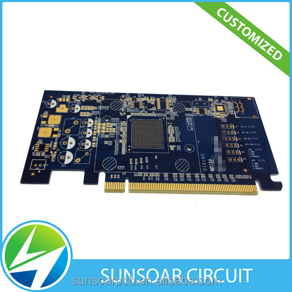 Rigid pcb manufacturer FR4 printed circuit board pcb prototype
