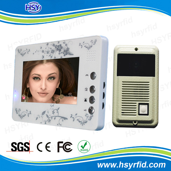 Apartment building audio intercom system video door phone voip