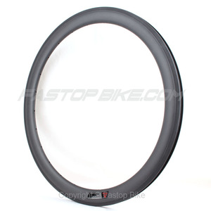 700c Carbon Bicycle Wheel 50mm Clincher Carbon Rim