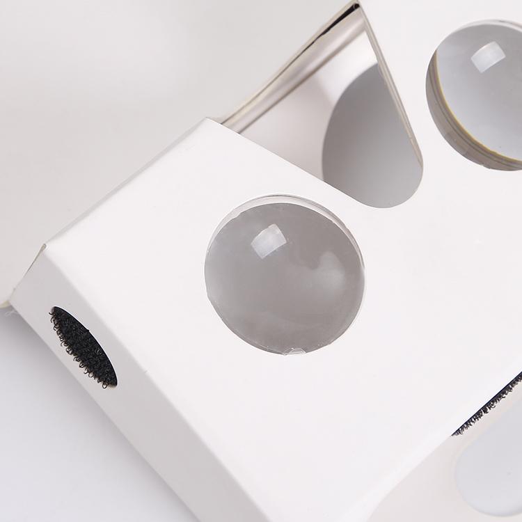 Personalizada De Marca Google Cartón V2 Vr Gafas De Cartón Reader Viewer Bajo Precio Realidad Virtual De Realidad Virtual Para La Comercialización De