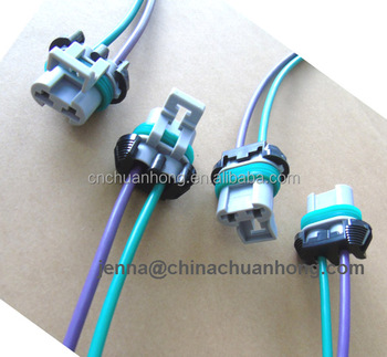 2 Cavity Female Connector Wire Harness Pigtail For Holley Efi (hp  Efi,Dominator Efi) Ecus For Main Power - Buy 2 Way Female Connector,2 Way  Efi