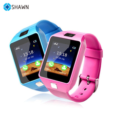 Emergency GPS Tracker Security Children Kids Smart Watch With SIM Card Slot SOS Phone Call For Children smartwatch