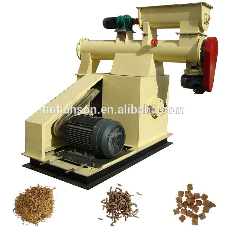 Hot Selling Catfish Zooplankton Chicken Maize Flour Grain High Quality Electric Fish Food Mini Pellet Maker Extrusion Granulator