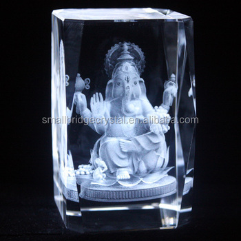India Buddha Wedding Gift 3d Laser Crystal Cube Buy 3d