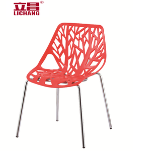 Wholesale plastic stackable tree branch chair