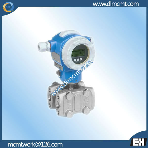 E+H Differential pressure flowmeters Deltabar S PMD75