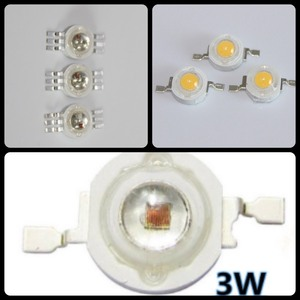 high power white ir rgb 3w cree led diode