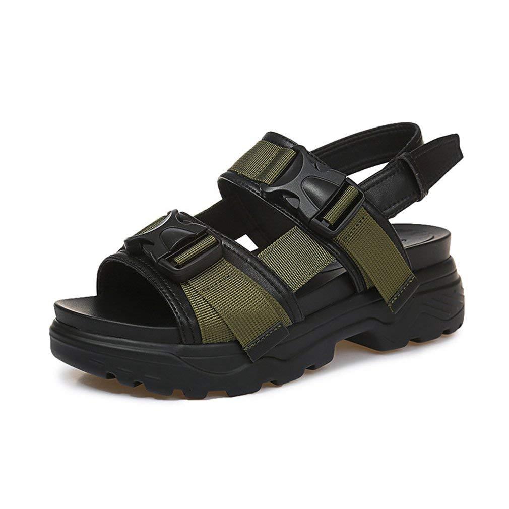 d54327064109 Womens Platform Sandals Athletic Mid Heel Casual Beach Summer Wear Straps  Outdoor Hiking Walking