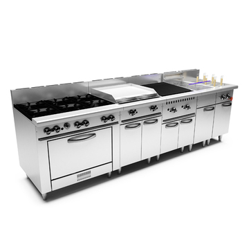 Modular America Gas Range Cooker Professional Commercial Fast Food ...