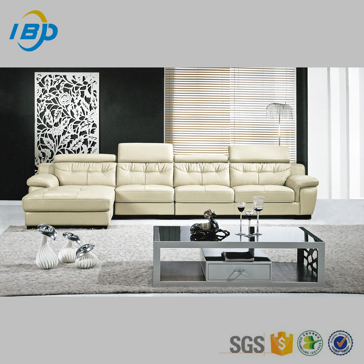 Hot sell furniture sectional portugal leather sofa