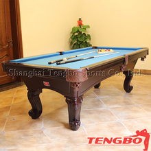 Low price 8 ball pool table united billiards pool table