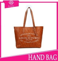 Onlie sale top 10 lpopular large quality fashionable style practical letter print good quality collage bag