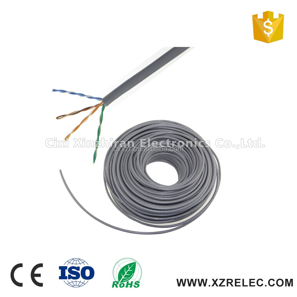 high speed 305m roll pvc multi core cat5e cable