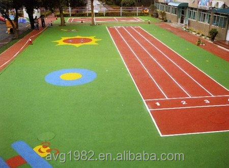 Multi turf synthetic turf pitches for urban decoration