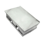 Hot Selling Non Stick Triple Divide Loaf Pan Toast Pan Make Three Breads At One Time