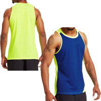 Hot products colors combination running tank top sports singlet