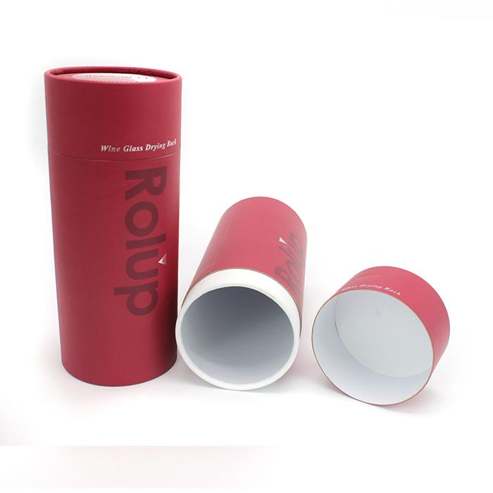 Innovative Design Round Paper Box Template With Special Pattern Buy Round Paper Box Template Round Paper Tube Custom Cardboard Package Design Box