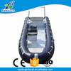 Aluminum Hull Material and CE Certification High Quality Center Console Inflatable Boat RIB 6m