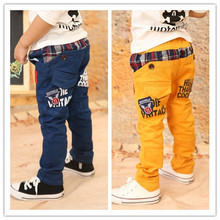 [LOONGBOB]2013 New children pants baby girl's korean styling fashion autumn winter fleece lining pants trousers free shipping