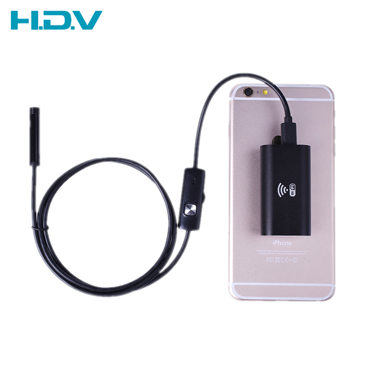 Roundhead 8mm <strong>WiFi</strong> IP67 Waterproof Endoscope for all Android and iSO Device with 1/2/3.5/5/10M cable (HDV-F99WE200R08)