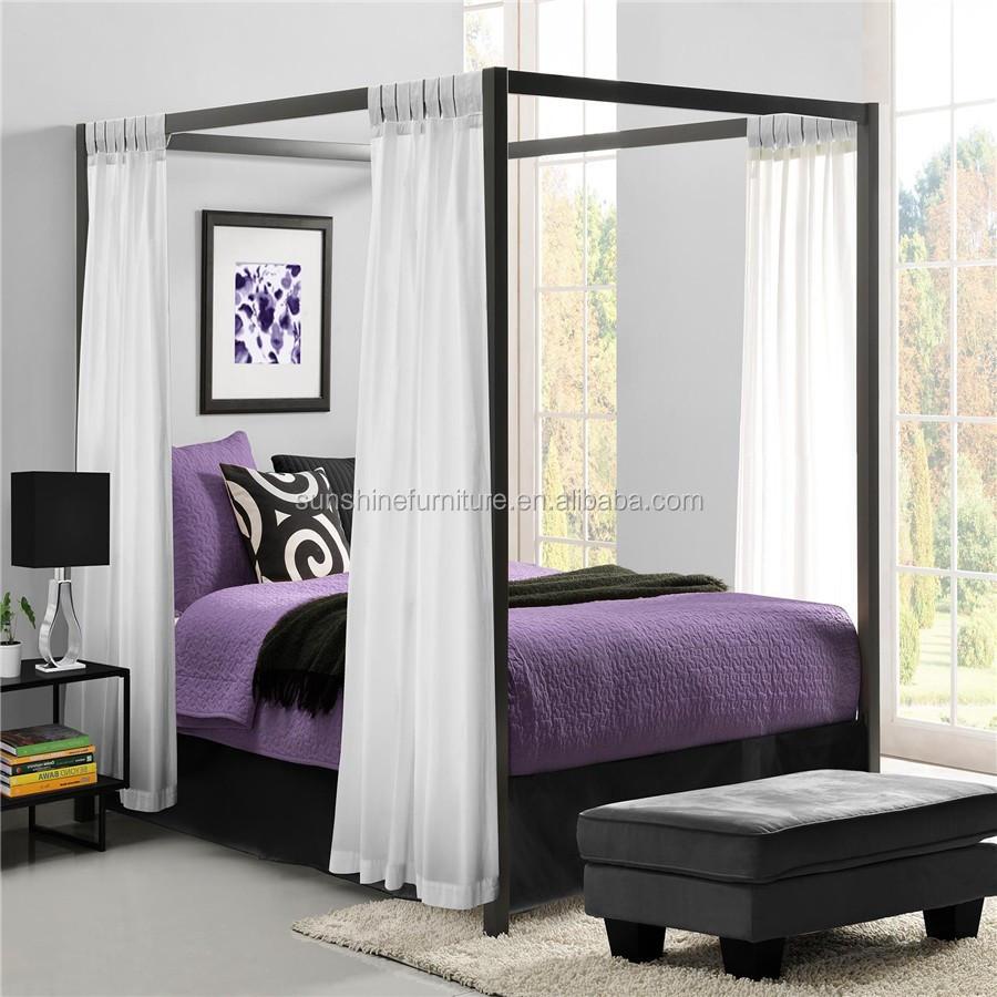 - King Size/queen Size Modern Metal Furniture Modern Luxury Princess
