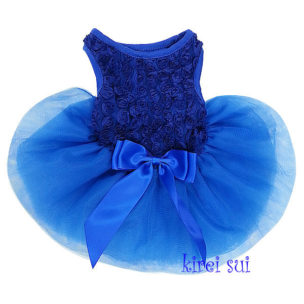 Vestidos de color azul rey para ninas
