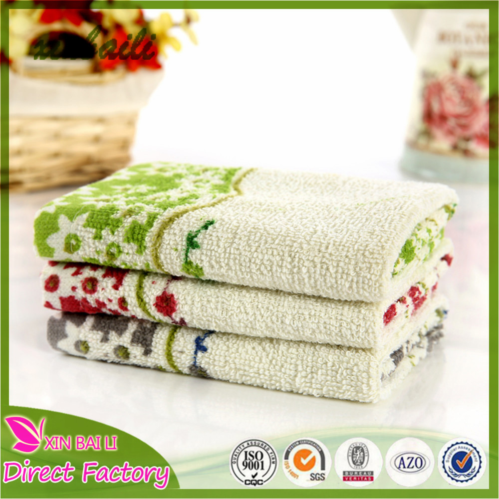 Wholesale Custom Cotton Terry Cloth Printed Kitchen Towels