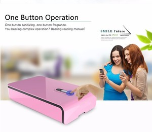 2016 healthy life mobile phone accessory sanitizer UV sterilizer