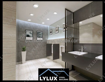 Wc Design prefabricated hotel area design wc modern