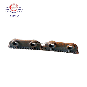 chain belt type Grate Stoker Parts,iron casting boiler parts