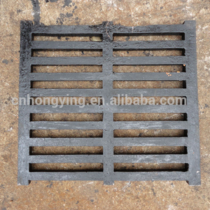 Rectangular ductile cast iron rain drain