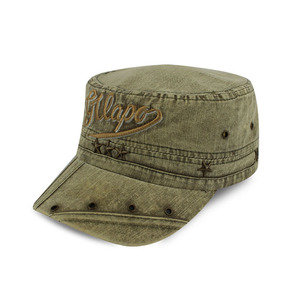 Get $1000 coupon embroidery army green washed military cap