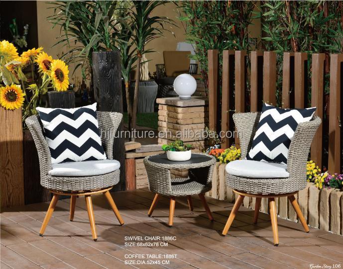 Venta al por mayor muebles de exterior tejida-Compre online los ...