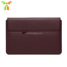 Factory Directly Leather Laptop Pouch Notebook Computer Sleeve