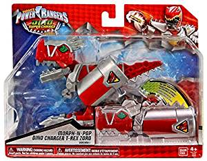 Power Rangers Dino Super Charge - T-Rex Zord Morph-N-Pop Charger