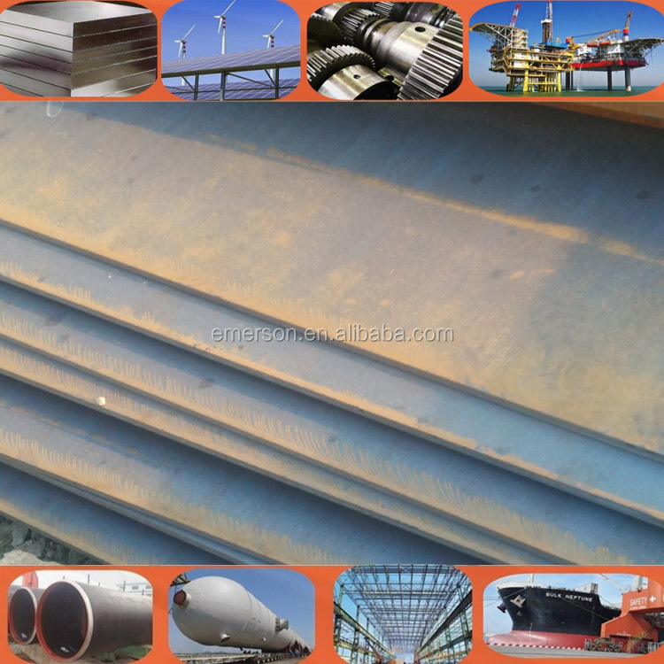 Good quality and price hot rolled metal steel plate for boiler steel