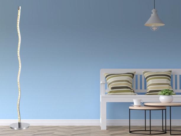 사용자 정의 현대 레스토랑 Led 플로어 라이트 홈 장식 조명 크리스탈 플로어 램프