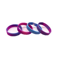 Rubber Wristband 3d Logo Bracelet Silicone Sports Various Color Wrist Band