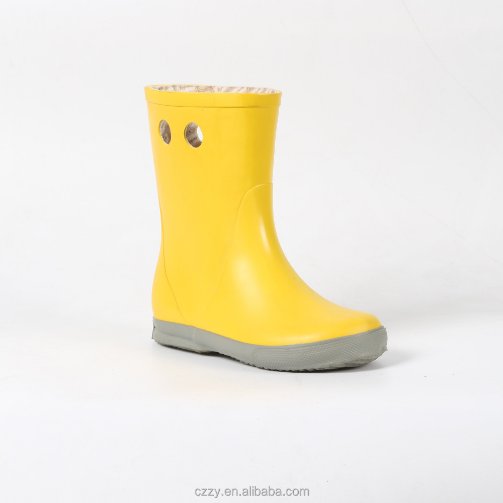 fashion kid rubber boot