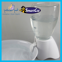 Pet Dog Cat Travel Water Drink Bottle Bowl Dispenser Feeder Plastic 70 oz.Capacity/ Pet item